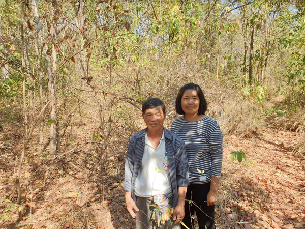 Uncle Nawm's community forest in Thailand